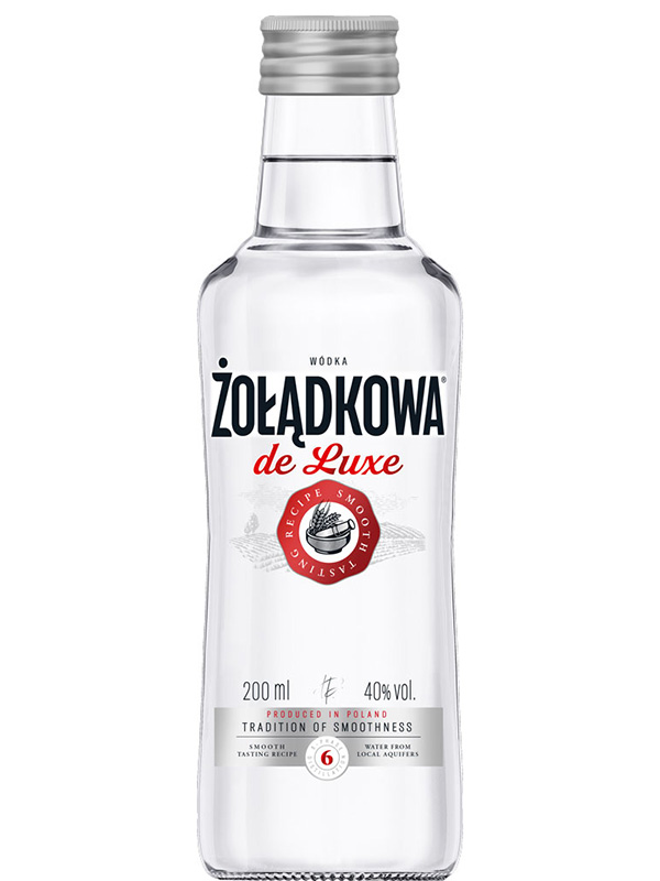 Zoladkowa Gorzka de Luxe Wodka 40% vol 200ml
