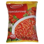 Amino Instant-Tomatensuppe mit Nudeln