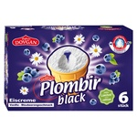 Plombir Eiscreme Black 6 x 120 ml