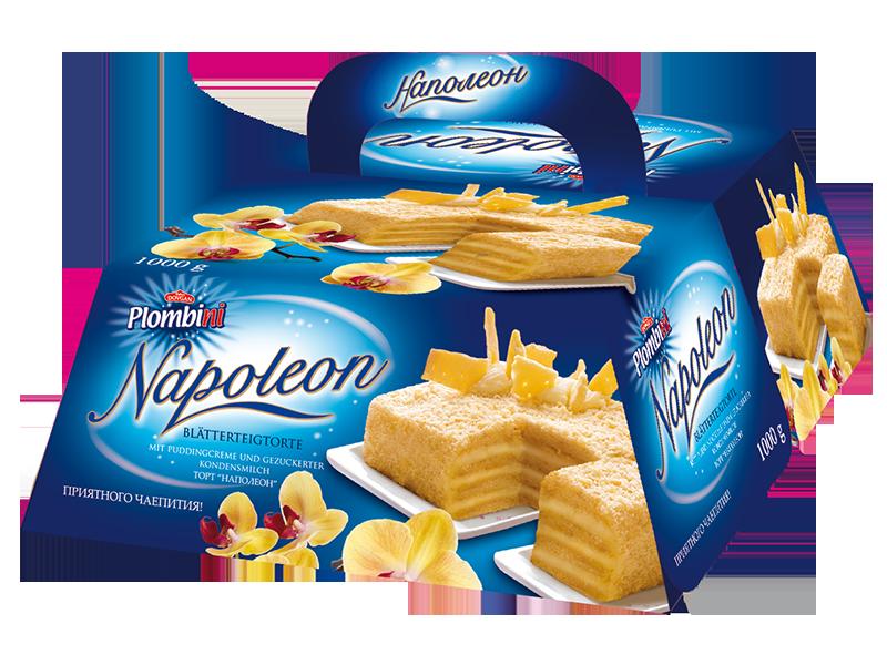 Russisches Cafe Napoleon Blatterteigtorte Mit Milchcreme 1000g